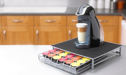 Coffee Machine Stand with Capsule Pod Storage Drawer for £9.98 (82% Off)