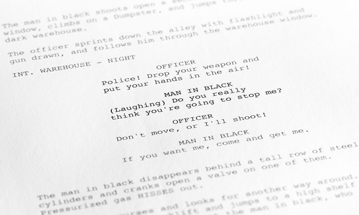 online screenwriting courses industrial scripts groupon