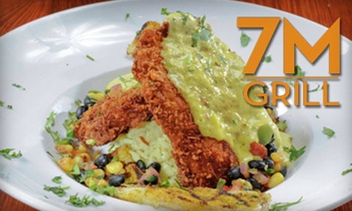7M Grill - Omaha: $20 for $40 Worth of Upscale American Fare and Wine from 7M Grill