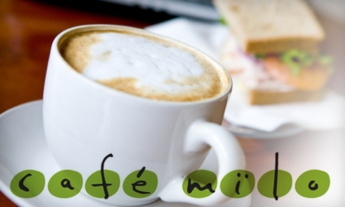 Cafe Milo - Ames: $5 for $10 Worth of Sandwiches, Baked Goods, and Coffee at Cafe Milo in Ames