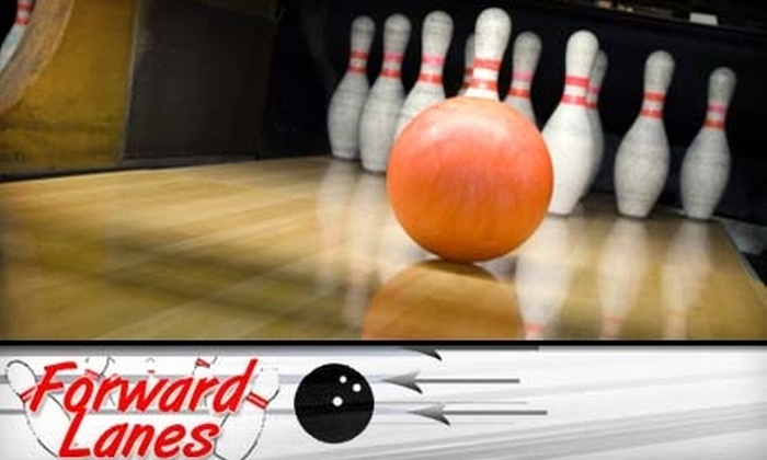 Forward Lanes - Squirrel Hill South: $6 for Three Games of Bowling Plus One Shoe Rental at Forward Lanes