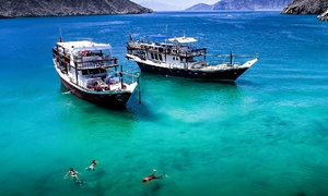 Saluja Tourism: Full-Day Musandam Dibba Trip for One, Two or Four with Saluja Tourism (Up to 63% Off)