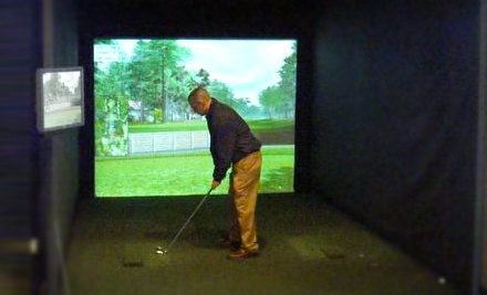 One 2-Hour Golf-Simulator Session for up to 4 Players - World of Golf in Florence