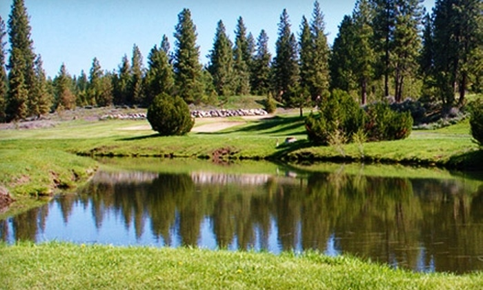 Meadow Creek Golf Course - New Meadows: 18 Holes of Golf for Two Plus Range Balls at Meadow Creek Golf Course