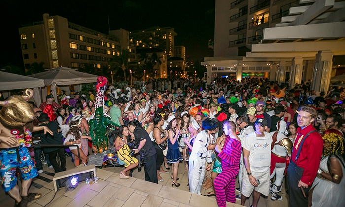 """Comics Come Alive"" - Hyatt Regency Waikiki: Comics Come Alive Halloween Costume Party on Saturday, October 31, at 8 p.m."