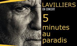 Nuits d'artistes: 1 place assise en catégorie 1 pour le concert de Bernard Lavilliers, le mercredi 11 avril 2018 à 35 € à Longuenesse