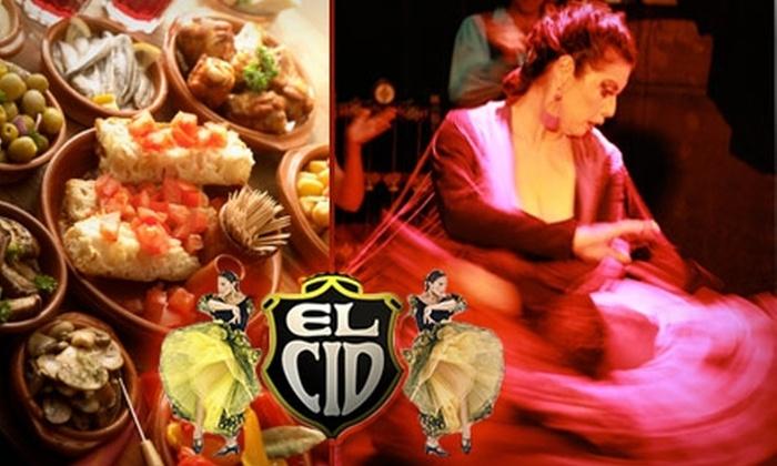 El Cid - Los Feliz: $15 for a Three-Course Dinner and Flamenco Show from El Cid
