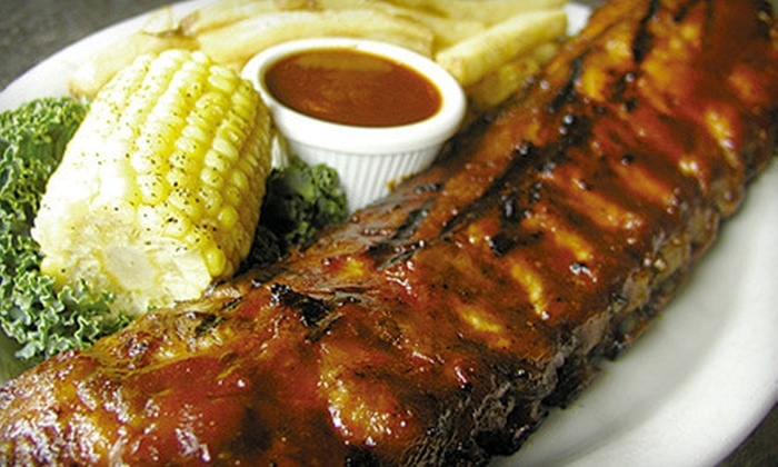 Duke's Original Roadhouse - Multiple Locations: $10 for $25 Worth of Ribs, Sandwiches, and Gourmet Mac 'n' Cheese at Duke's Original Roadhouse