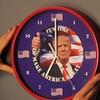 Trump Talking Clock 10'' (2-Pack)