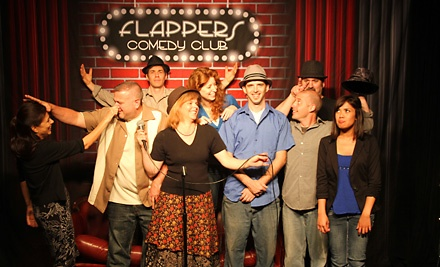 Comedy Night for 2 at Flappers Comedy Club: General Admission Seating - Flappers Comedy Club in Burbank