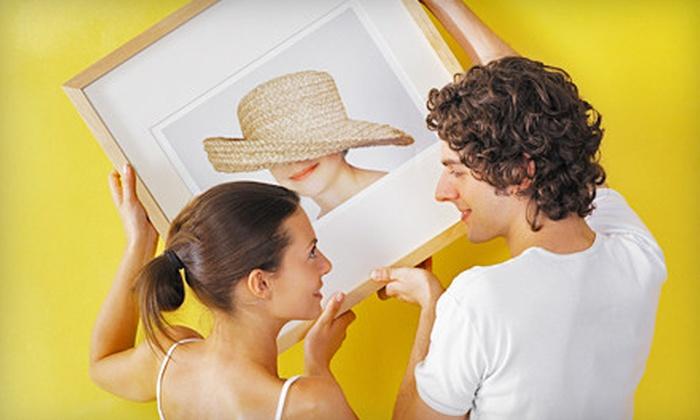 Framing Concepts Gallery - Mountain Run: 65% Off Framing Services