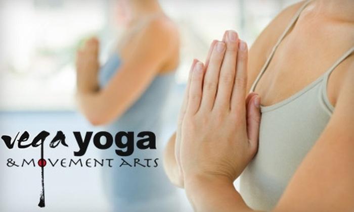 Vega Yoga - Holyoke: $39 for One Month of Unlimited Classes at Vega Yoga ($85 Value)