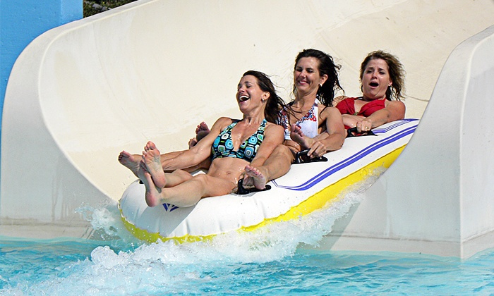 Splashtown San Antonio - AT&T Parkway: Water-Park Attractions at Splashtown San Antonio (Up to 33% Off). Two Options Available.