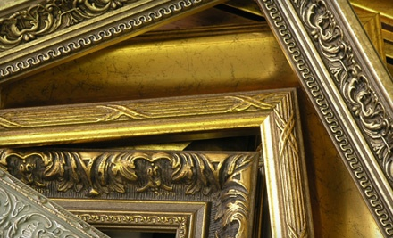 $100 Groupon Worth of Custom Framing Services - Fine Arts Giclee & Frame in San Jose