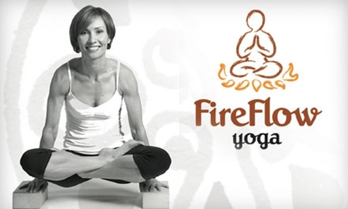 Fireflow Yoga - Midtown Toronto: $45 for One Month of Unlimited Drop-In Classes at Fireflow Yoga (a $147 Value)