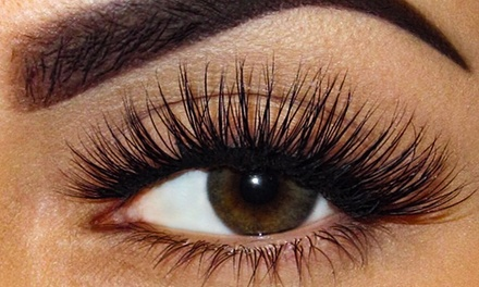 Full Set of Eyelash Extensions with Optional Fill at Tm Beauty