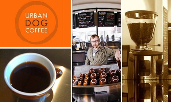 Urban Dog Coffee - Dallas: $10 for $20 Gift Card for Caffeine, Pastries and More at Urban Dog Coffee