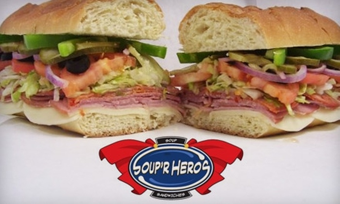Soup'R Heros - Portage: $4 for $8 Worth of Soups, Sandwiches, and More at Soup'R Heros