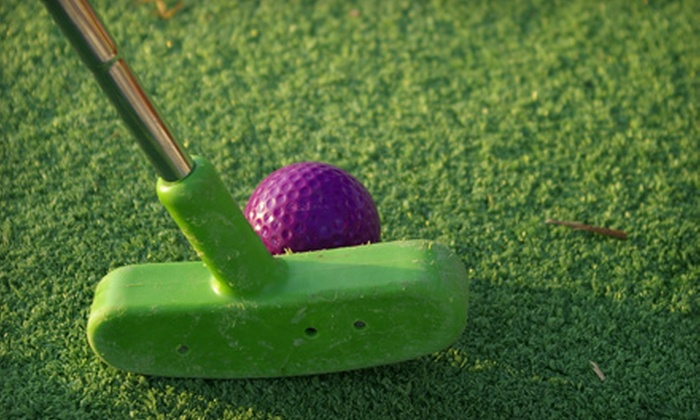 Seekonk Driving Range - Seekonk: Mini-Golf-and-Batting-Cage Outing for Two or Four at Seekonk Driving Range