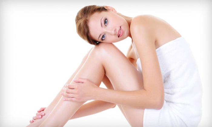 Satin Laser Spa - West End: $99 for Three Laser Hair-Removal Treatments at Satin Laser Spa (Up to $600 Value)