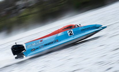 image for F1 Powerboat Experience with 2 Seater F1 (61% Off)