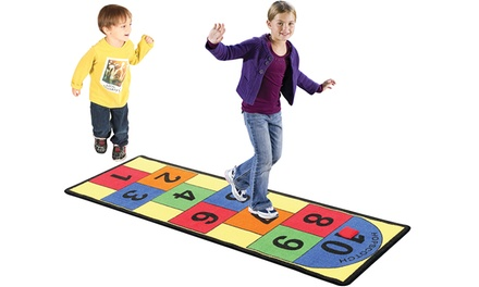 Hopscotch Rug with Bean Bags