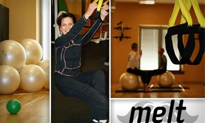 Melt - Capitol: $40 for a 10-Class Pass to Any Fitness Classes at Melt