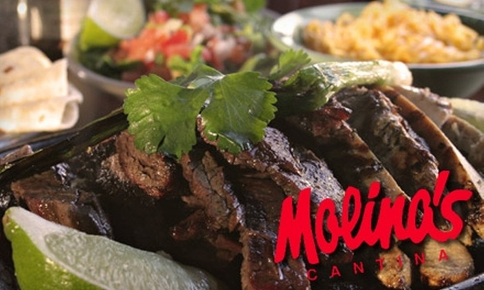 Molina's Cantina - Woodlake/ Briar Meadow: $15 for $30 Worth of Tex-Mex Fare at Molina's Cantina