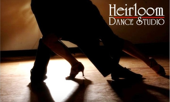 Heirloom Dance Studio - Downtown: $25 for One Month of Unlimited Dance Classes at Heirloom Dance Studio ($50 Value)