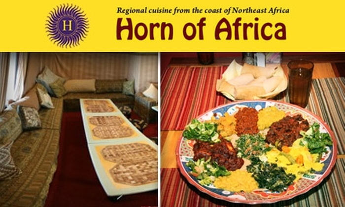Horn of Africa - King: $15 for $35 Worth of Northeast African Fare at Horn of Africa