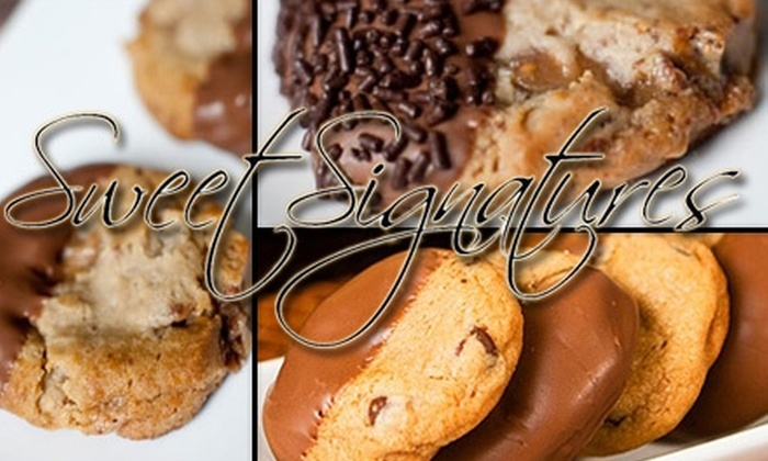 Sweet Signatures - Washington DC: $15 for One Dozen Gourmet Cookies from Sweet Signatures ($31 Value)