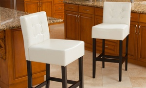 Gregory Bar Stool (2-Pack). Multiple Colors Available.