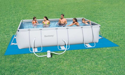 Tappetino per piscine fuoriterra bestway - Tappetino per piscina ...