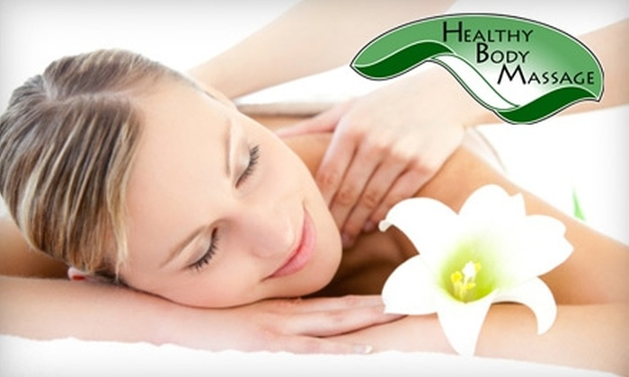 Healthy Body Massage - Conway: $58 for a 60-Minute Deep-Tissue or Sports Massage and a 30-Minute Reflexology Treatment at Healthy Body Massage ($116 Value)
