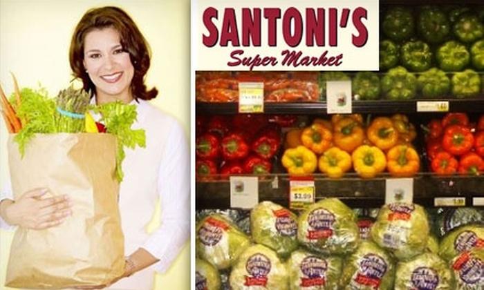 Santonis Market - Baltimore Highlands: $15 for $30 Worth of Groceries at Santoni's Super Market