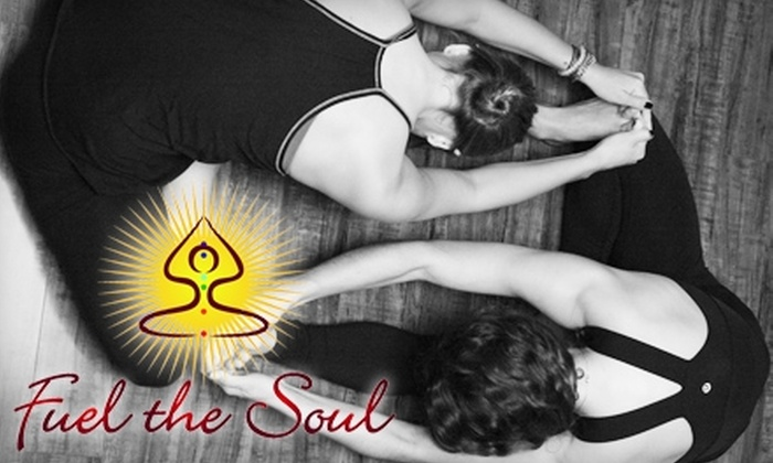 Fuel the Soul - Long Island: $49 for Five Yoga Classes at Fuel the Soul ($100 Value)