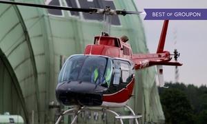 Aveo Flight Academy: 10 Min. Helikopter-Rundflug über verschiedenen Städten für 1 Person bei Aveo Flight Academy (bis zu 40% sparen*)