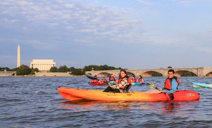 image for One-Hour Rental for Kayaks and Paddleboards at Boating in DC (Up to 50% Off)
