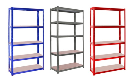One or Two Garage Shelving Rack Units