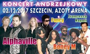 Koncert w Andrzejki: 129 zł: bilet na koncert z zespołami Alphaville, Fancy, sound of BoneyM i inni w Hali Azoty Arena (zamiast 159 zł)
