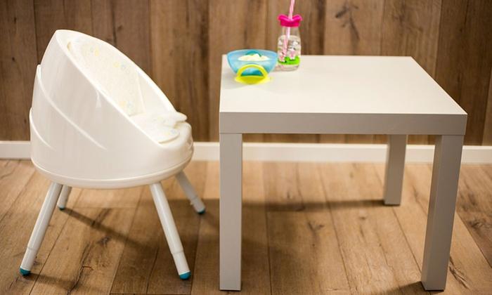 jusqu 39 58 chaise haute 3 en 1 groupon. Black Bedroom Furniture Sets. Home Design Ideas