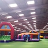 Inflatables and Soft Play Access: Toddler £4, Adult £9