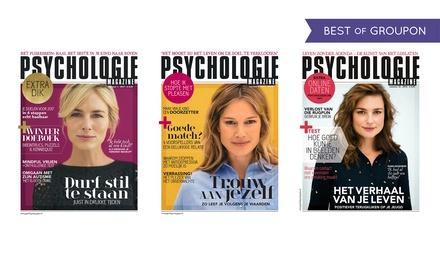 6 of 12 nummers Psychologie Magazine, abonnement stopt automatisch