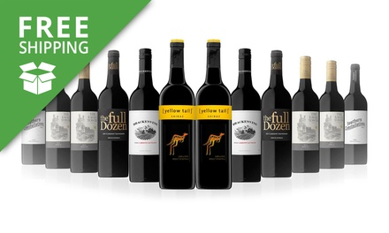 Free Shipping: $59 Mixed Bottles of Red Wine Don't Pay $189