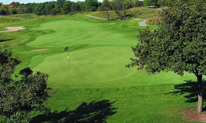 Fieldstone Golf Club - Auburn Hills: $85 for a Round of Golf for 2 with Two Small Bags of Practice Balls at Fieldstone Golf Club (Up to $142 Value)