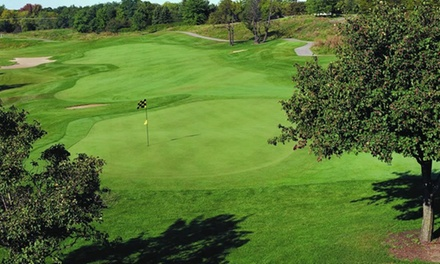 $85 for a Round of Golf for 2 with Two Small Bags of Practice Balls at Fieldstone Golf Club (Up to $142 Value)