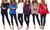 Women's Open-Shoulder Tunics with Bell Sleeves (2-Pack)