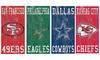 Fan Creations NFL Heritage Team Logo Sign