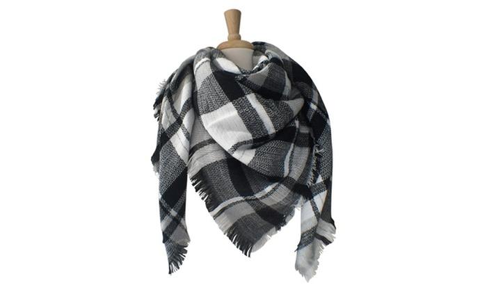 Azuri Oversized Blanket Scarves