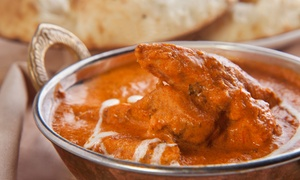 4500 Miles to Delhi: Four-Course Indian Lunch for Two or Four at 4500 Miles to Delhi (50% Off)